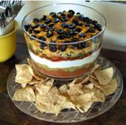 The fabulous seven layer dip!