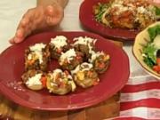 Rosalie Fiorino Harpole : Italian Sausage Stuffed Mushrooms