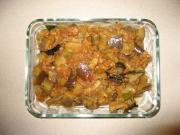 Eggplant in Tomato Gravy