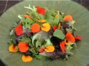 Pretty Nasturtium Salad