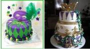 Surprise Your Teen With Mardi Gras Cakes!