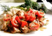 Chicken With Fresh Tomatoes And Dill