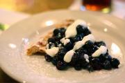 So Quick Blueberry Pie
