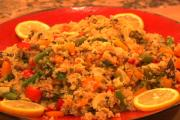 Spring-In Quinoa With Veggies