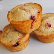 Swedish Lingonberry Muffins