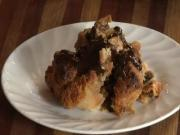 Panettone Bread Pudding featuring Bauducco Panettone