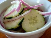 Cucumbers In Vinegar And Oil