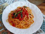 Tomato Basil Pasta Pomodoro
