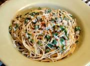 Merluzzo Spaghetti Puttanesca
