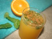 Refreshing Orange and Cucumber Cooler
