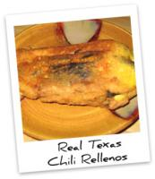 Texan Pablano Peppers Chili Rellenos