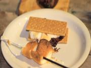 Grilled Banana Raspberry S'mores