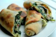Spinach and Mushroom Filo Roll