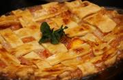 Elegant Peach Pie