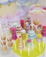 Tiered Cake POPs