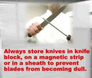 Tips For Maintaining And Storing Knives