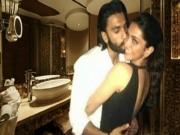 Ranveer Singh Deepika Padukone Caught in the Bathroom