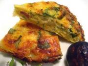 Italian Frittata with Prosciutto