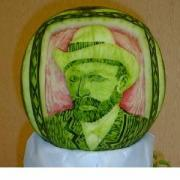 Vegetable Carving - truly beautiful and inspiring