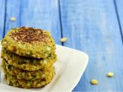 Chana Dal And Cabbage Tikki Diabetic Snack By Tarla Dalal