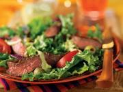 Grand Parisian Salad With Grilled Beef Sirloin