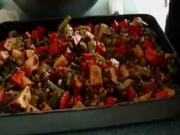 Baked Vegetables In A Tray