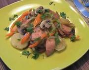 Stir Fried Kielbasa With Veggies