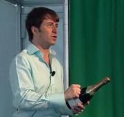 How To Saber A Bottle : Mark Oldman
