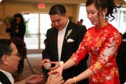 In China the tea ceremony is organized during the weddings.