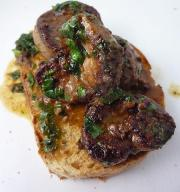 Lamb Kidneys, French Style