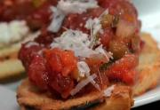 Fire-Roasted Tomato Basil Bruschetta & Pasta Ideas