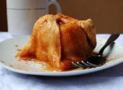 Cranberry Glazed Apple Dumpling