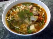 Spicy Crab and Pork Soup