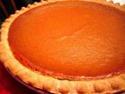 Creamy Orange Pumpkin Pie