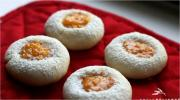 Almond Apricot Thumbprint Cookies