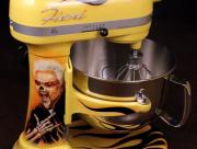 Custom painted Kitchenaid mixer