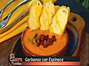 Spanish Tapas: Garbonzo con Espinaca