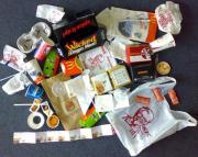 Fast food wrappers and plastic bags can be dangerous for health