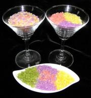 Rice in vibrant colors
