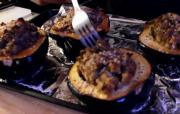 Vegan Stuffing and Acorn Squash