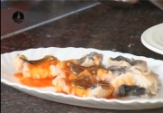 Poached Fish in Schezwan Sauce