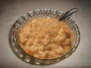 Creamy Golden Breakfast Cereal