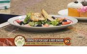 Hot Chicken Fruits Salad