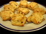 Onion & Red Bell Pepper Biscuits