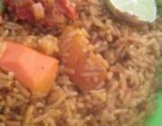 Coconut Jollof Rice - African Food