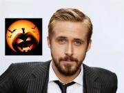 Ryan Gosling and his Halloween lunch.