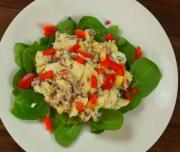 Golden Egg Salad Casserole Recipe by Calorie.Less.Cooking iFood.tv
