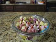 Coasta Cruise Lines Salami Salad