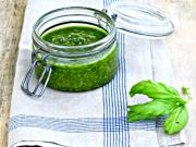 Amazing Raw Basil Pesto Sauce