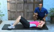Pre-Beginner Exercises - Abdominals Crunch